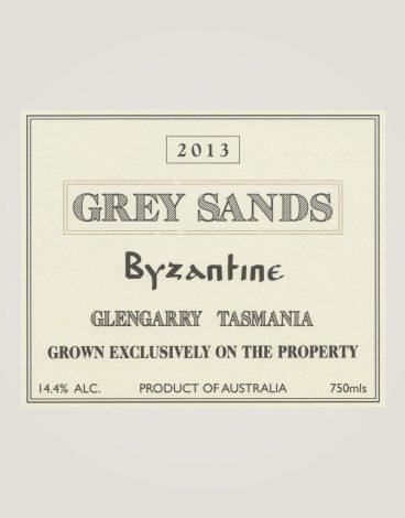Grey Sands byzantine-13-label