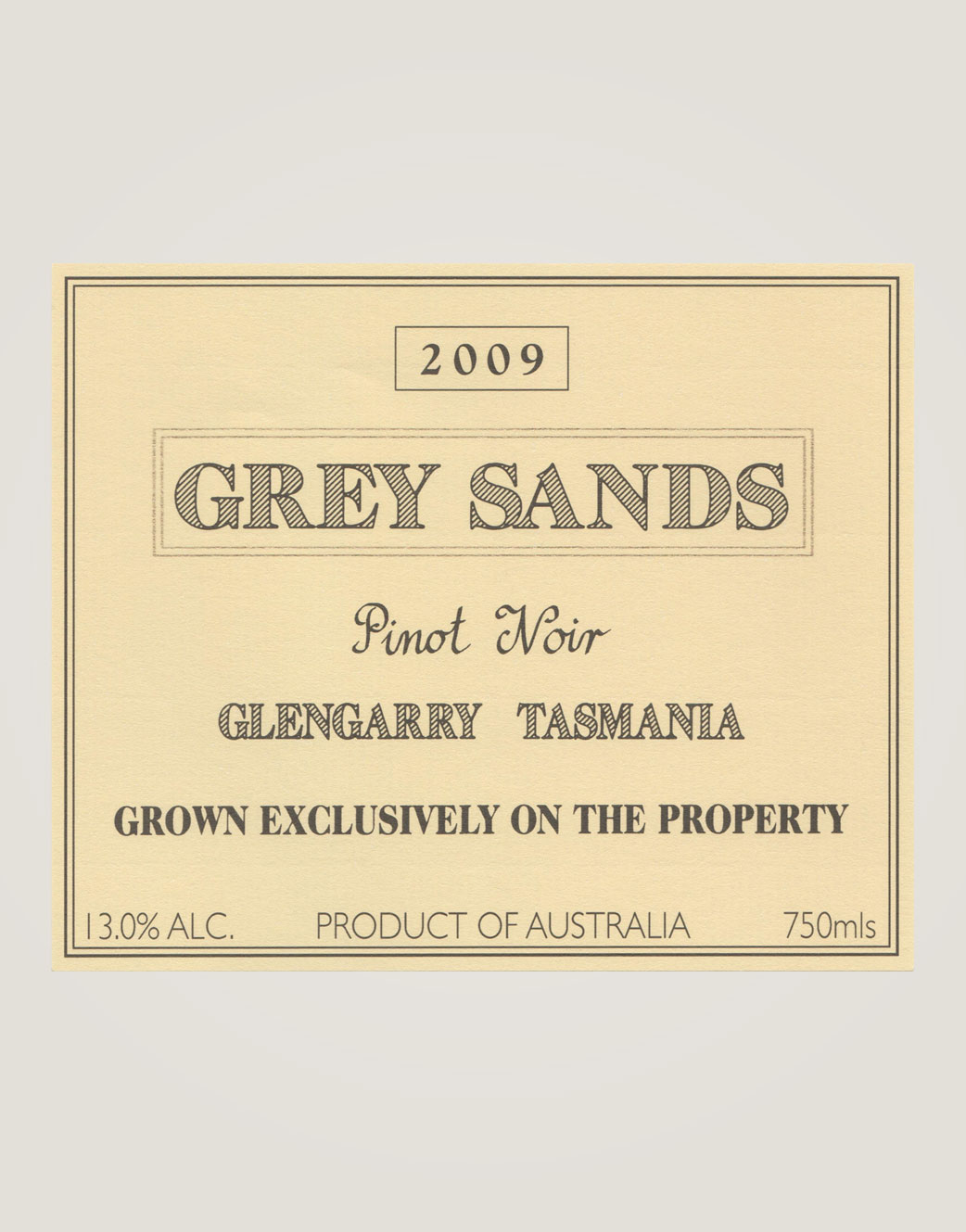 Grey Sands pinot-noir-09-label