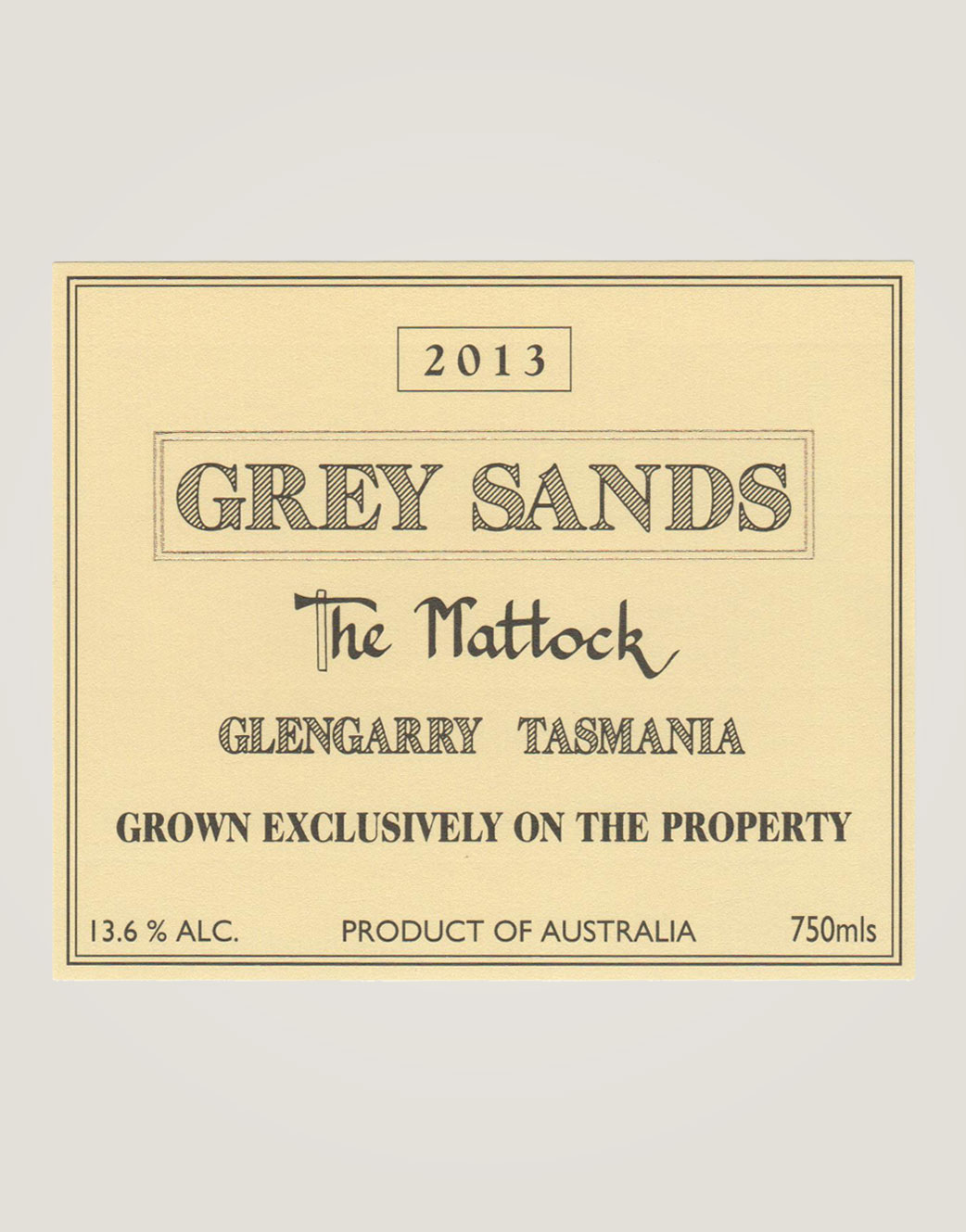 Grey Sands the-mattock-13-label