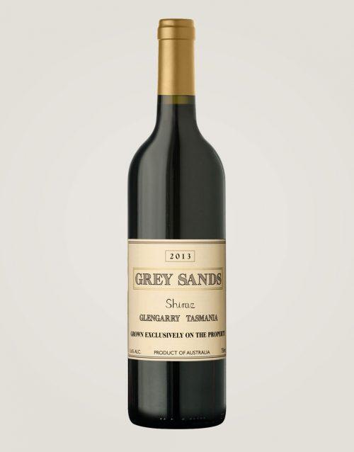 Grey Sands Shiraz 2013 bottle