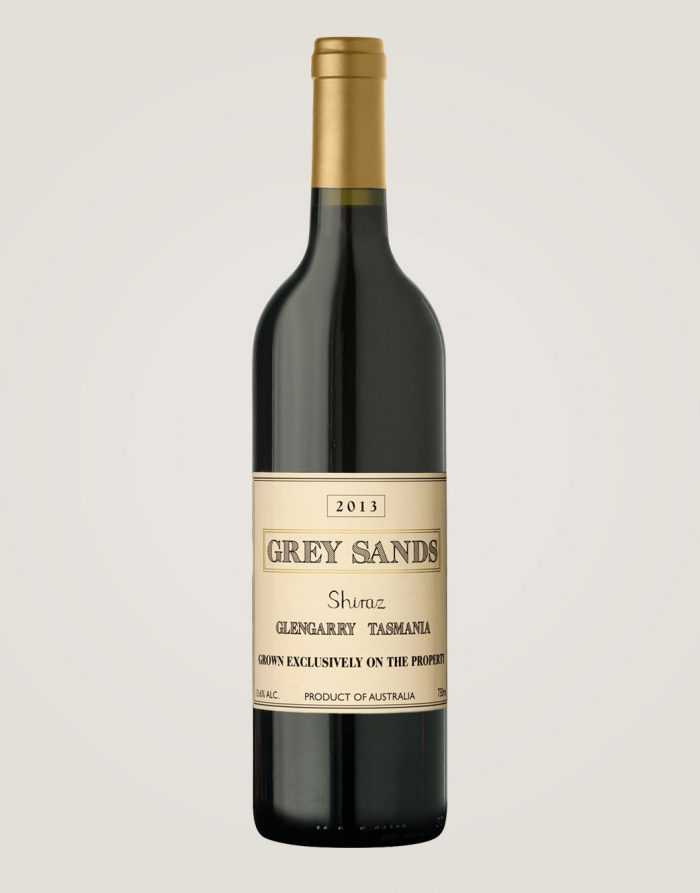 Grey Sands Shiraz 2013 bottle