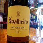Bottle of Soalheiro Alvarinho