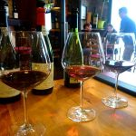 3 glasses of very different Portuguese red wines