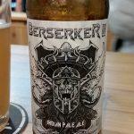 Santiago brewed IPA (maker in background)