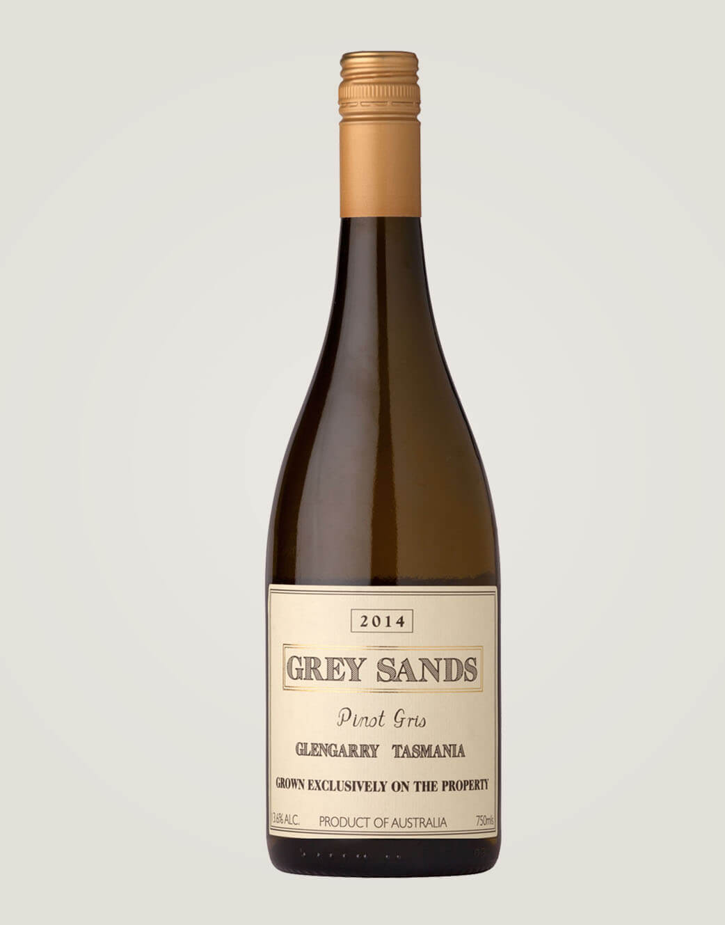 Grey Sands Pinot Gris 2014 bottle