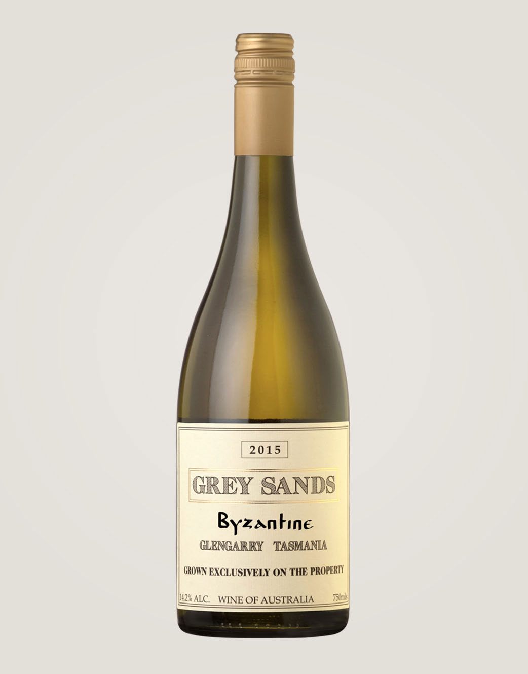 Grey Sands 2015 Byzantine bottle