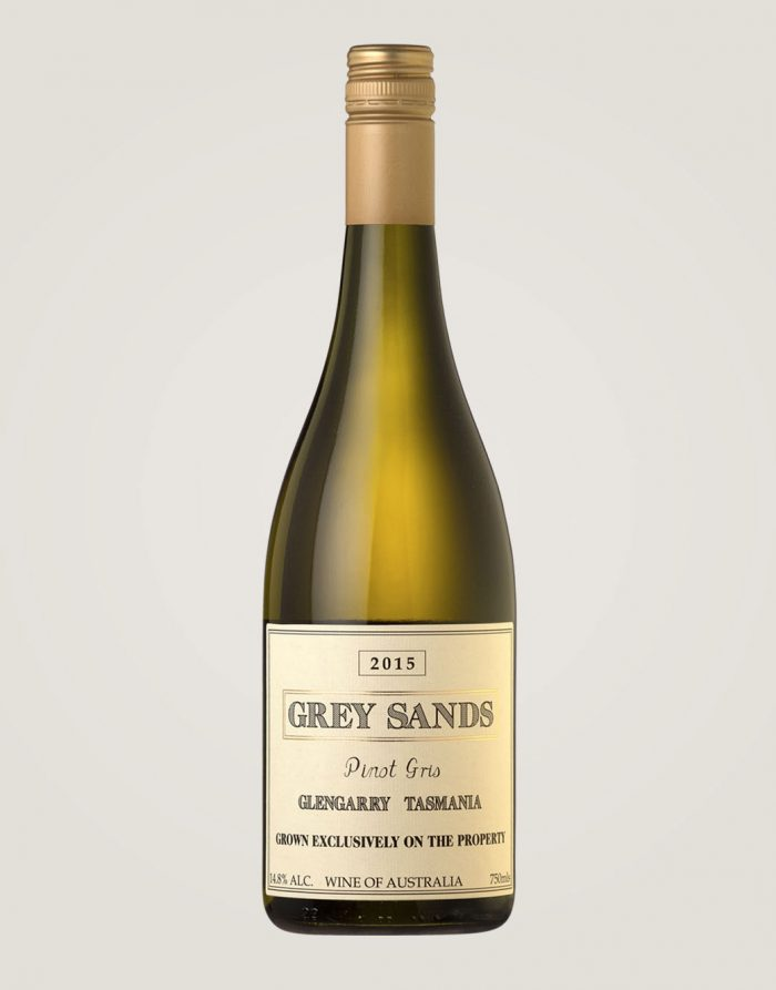 Grey Sands 2015 Pinot Gris bottle