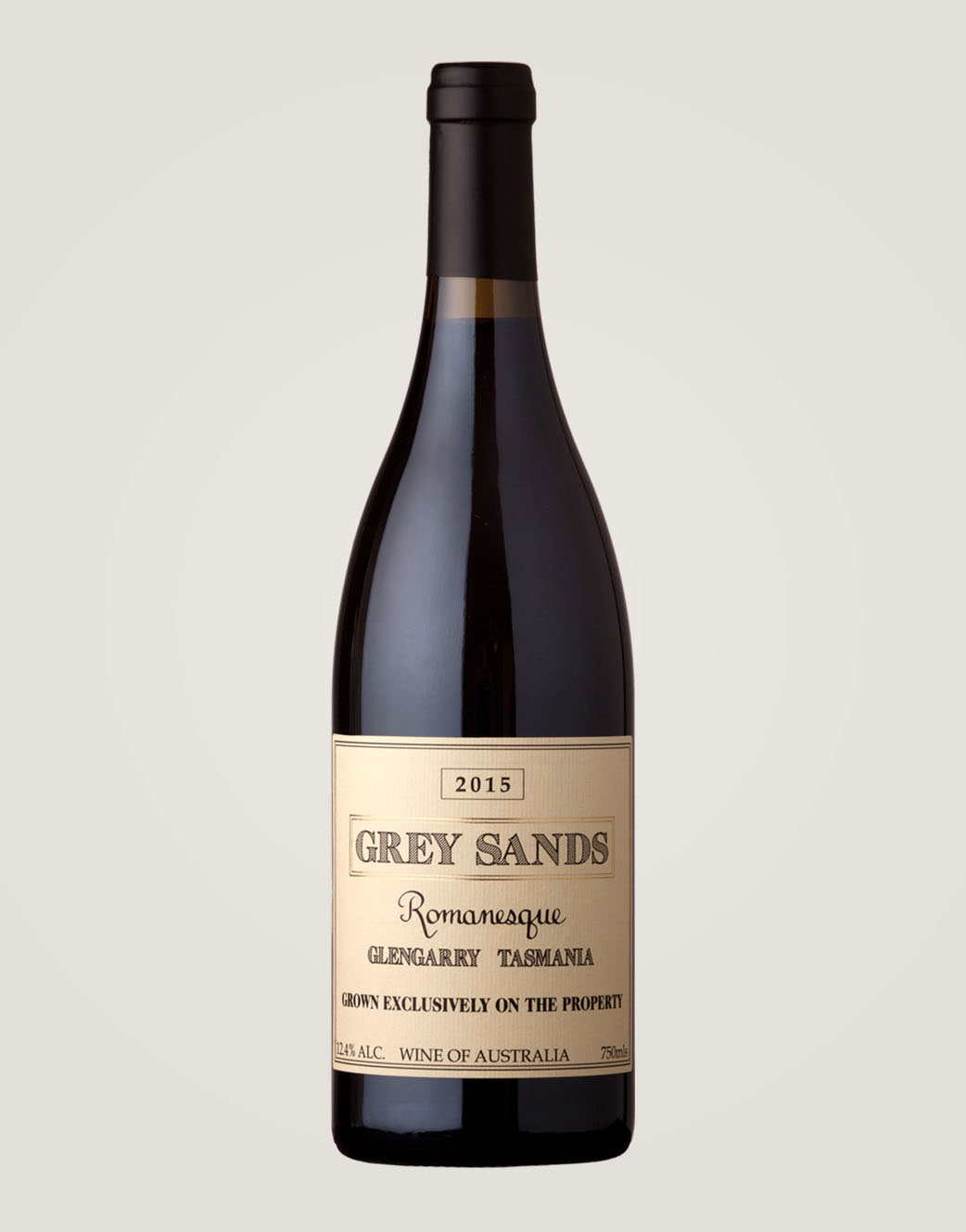 Grey Sands Romanesque 2015 bottle