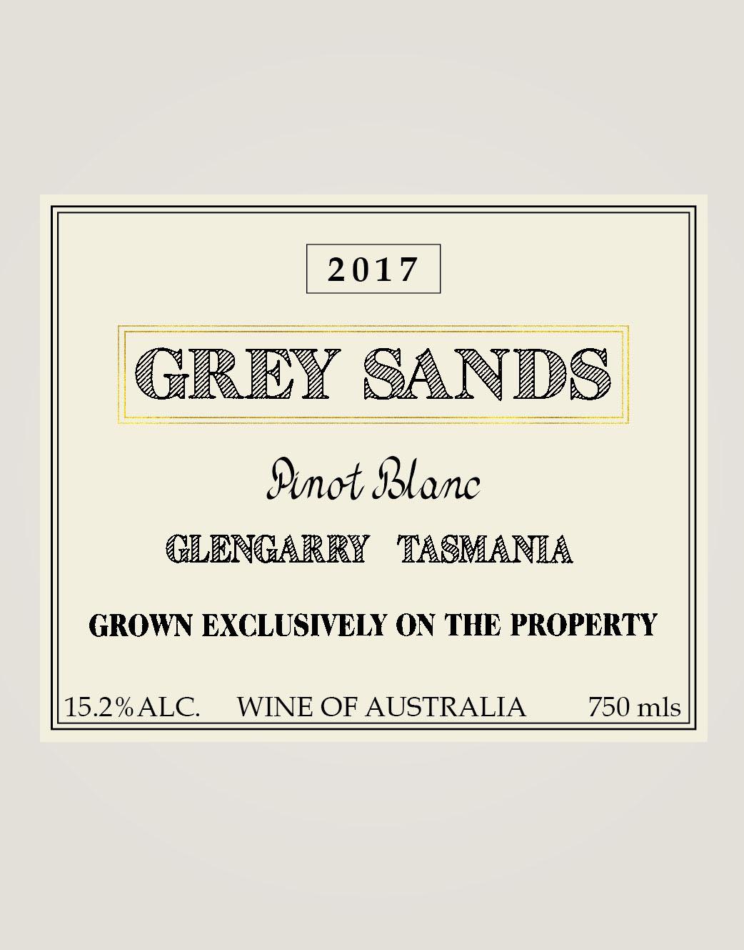 Grey Sands Pinot Blanc 2017