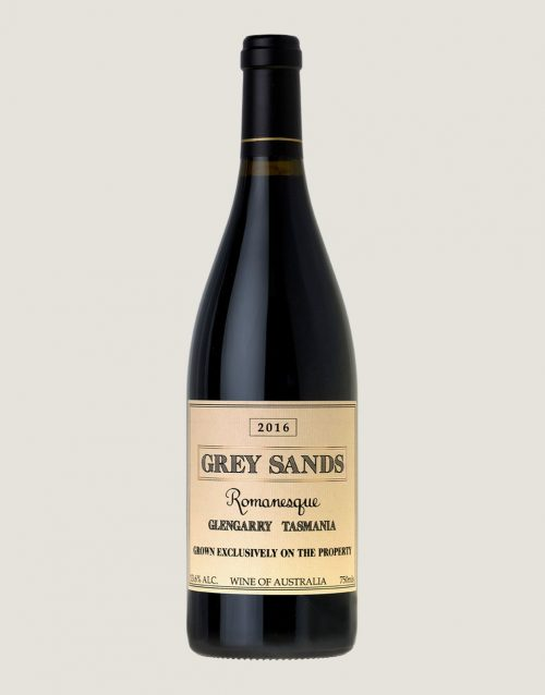 Bottle shot of Grey Sands 2016 Romanesque